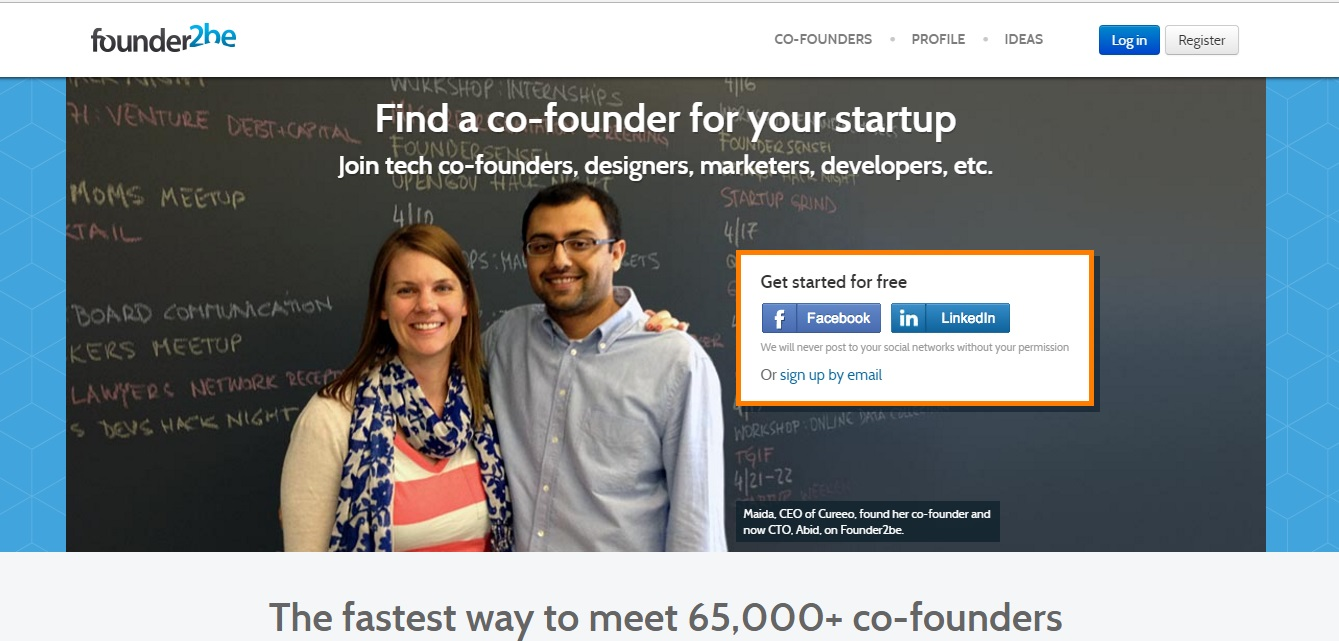 9 Best Websites to Find a Co-founder for your Startup in