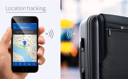 Self-tracking suitcase dubbed Bluesmart raises $2million on Indiegogo
