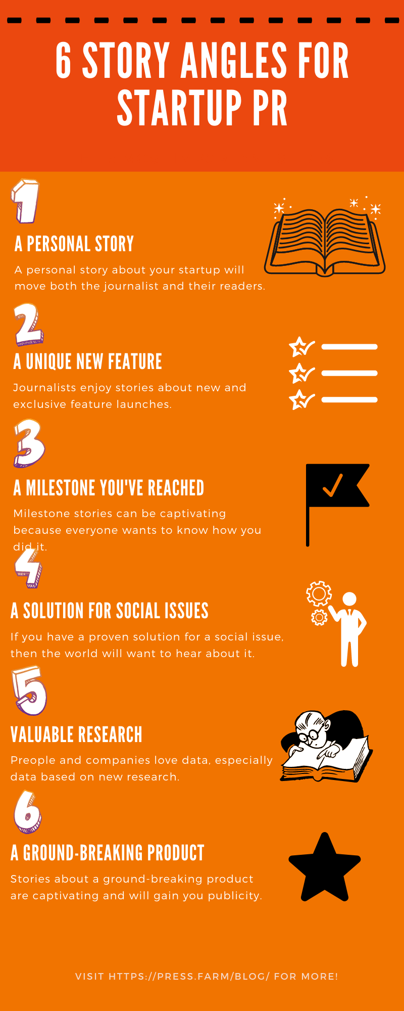 6 story angles for startup pr - Cold Email Journalists