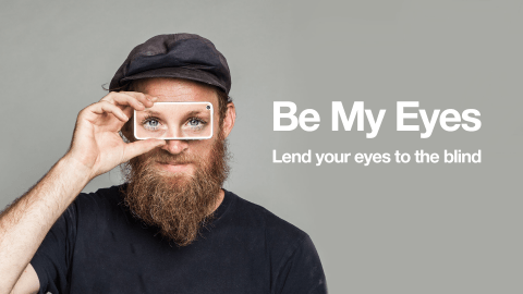 Meet Be My Eyes, the startup that enables you lend your eyes to the blind.