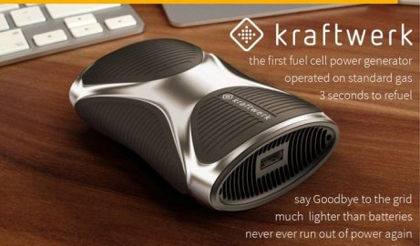 Kraftwerk, your first portable power station that can recharge your devices for weeks
