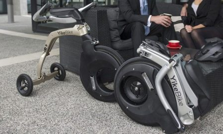 Meet YikeBike, the award winning electric folding bike
