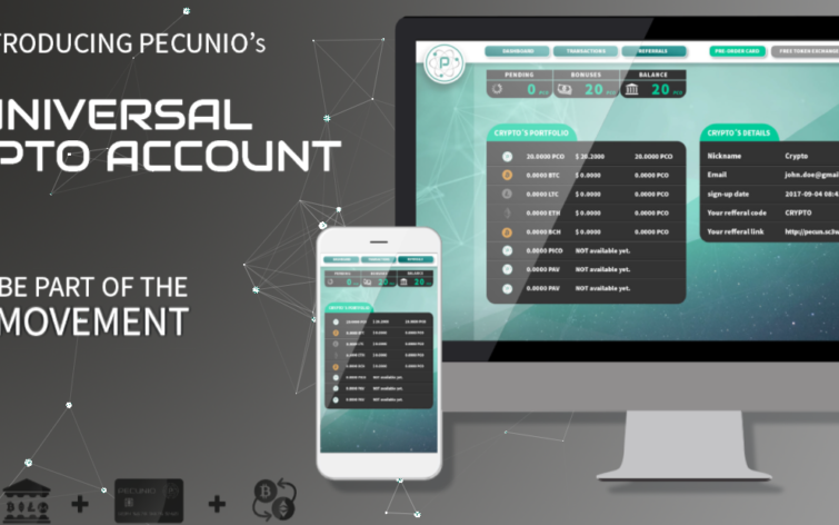 Pecunio's Decentralized Investing Platform for Cryptos