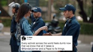 Kendall Jenner & failed Pepsi campaign - Negative Publicity