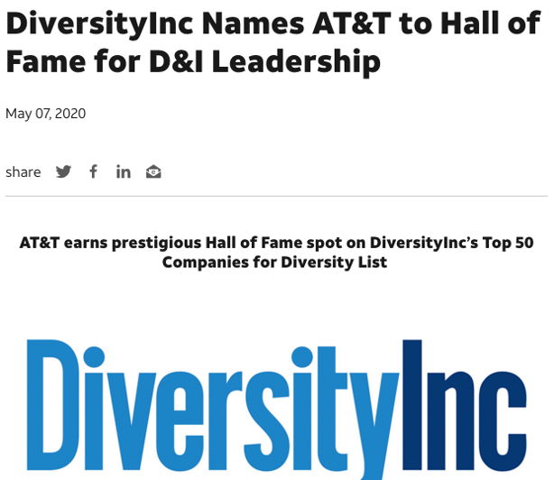 AT&T press release