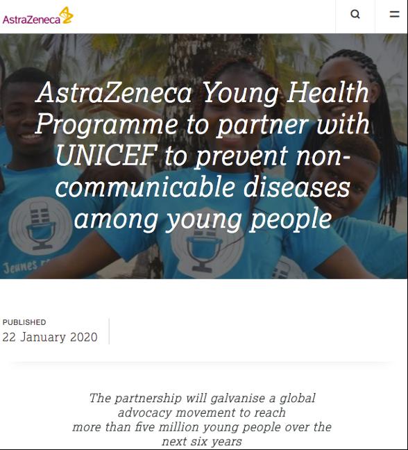 AstraZeneca press release