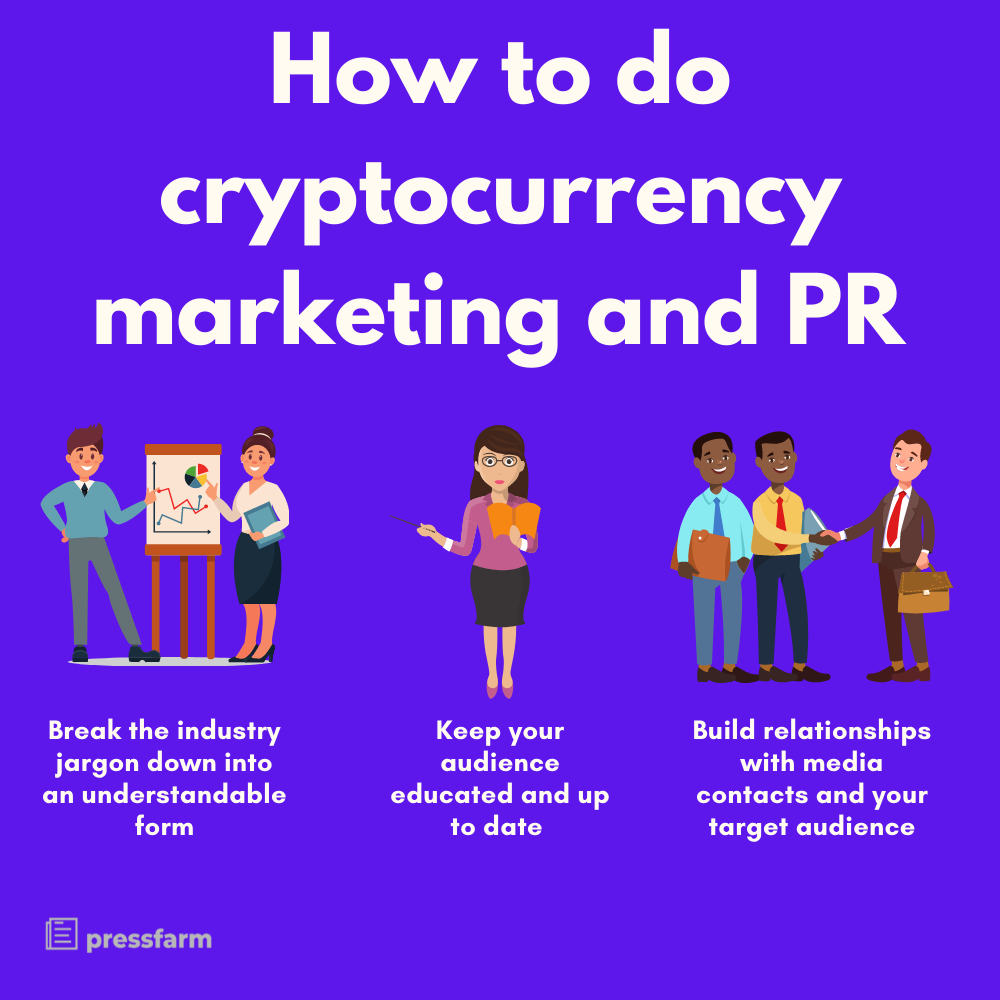 Cryptocurrency marketing and PR