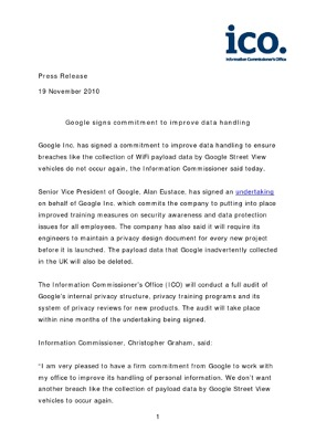 Google press release