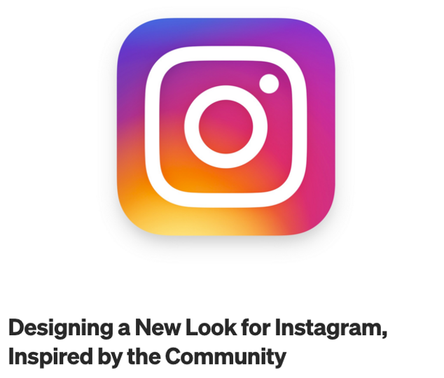Instagram press release