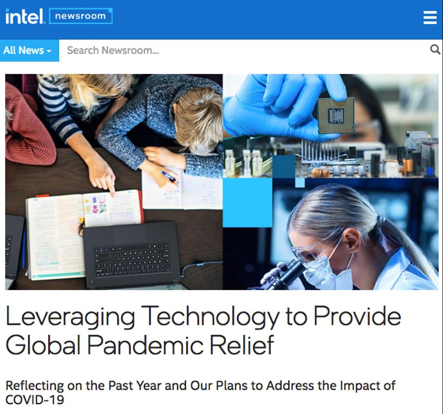 Intel press release