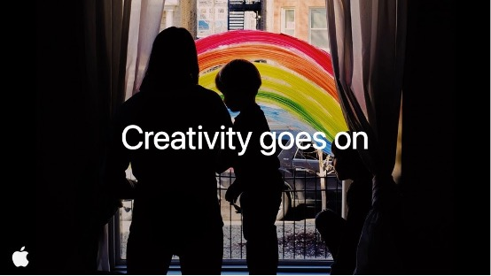 Apple: Creativity Goes On