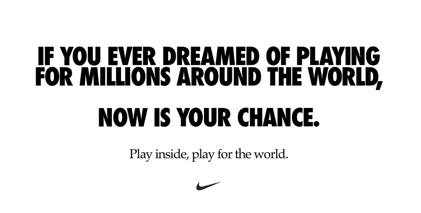 Nike Play for the World