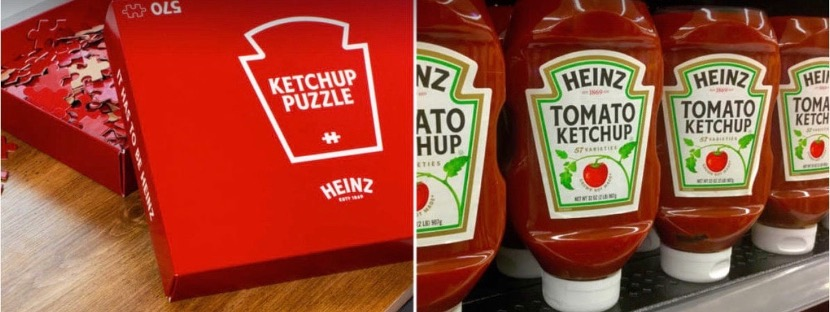 Heinz Ketchup Puzzles