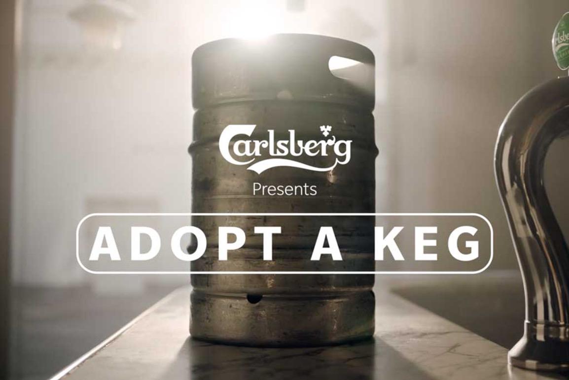 Carlsberg Adopt a Keg