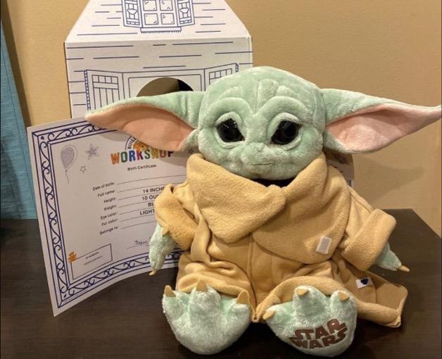 Build-A-Bear: Build your own Baby Yoda