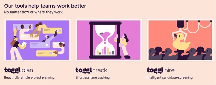 Toggl - Tools for Freelance Writers