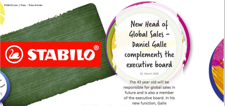 Stabilo World press release
