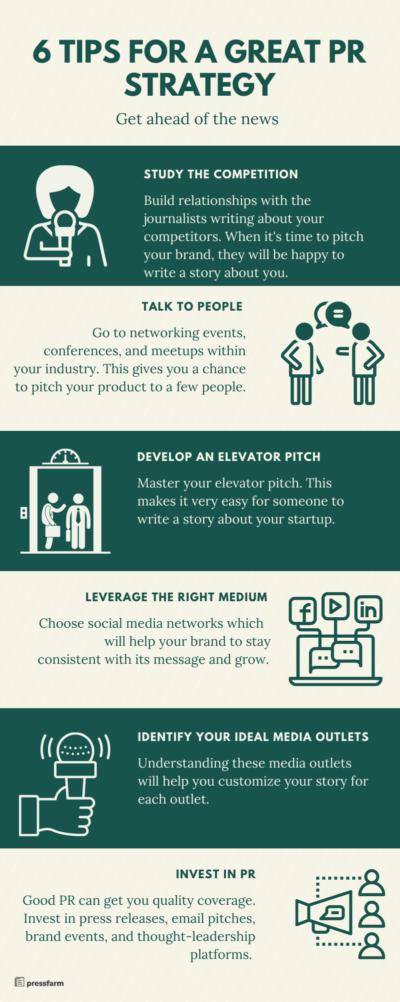 6 tips for a great pr strategy