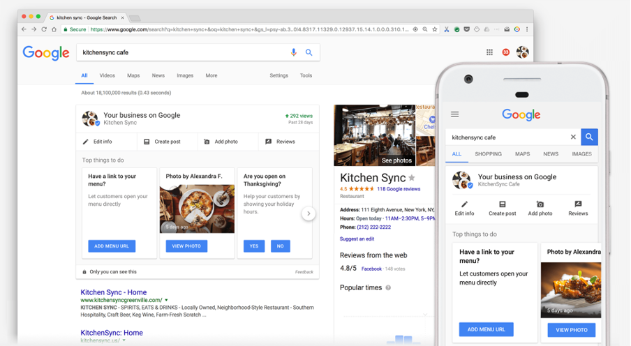 How to use Google My Business Listing