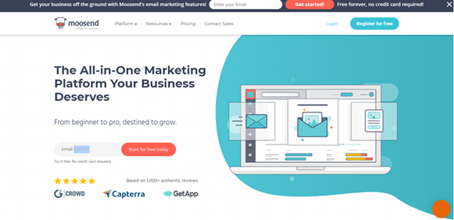 How to use Moosend for email marketing