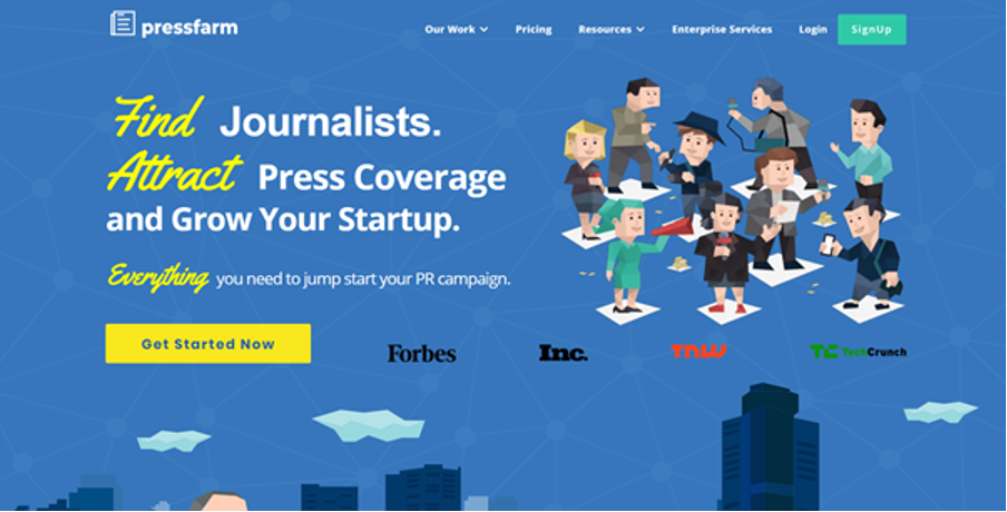 How to use Pressfarm for your PR campaign